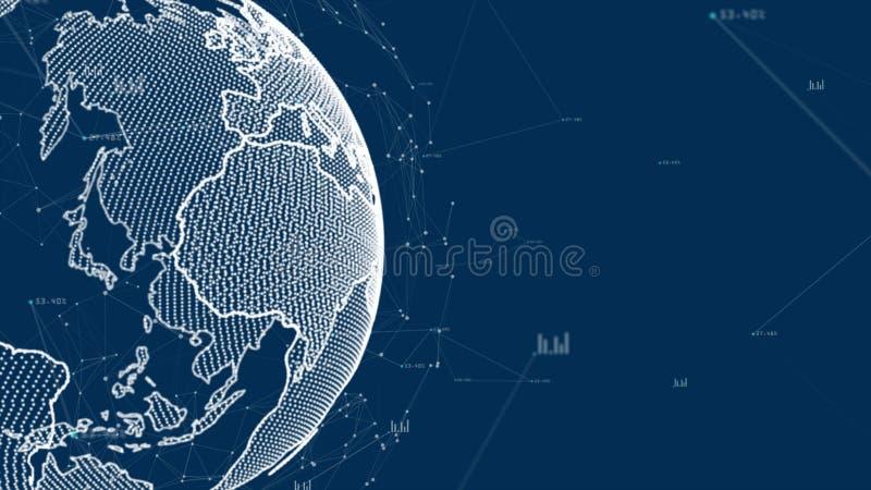 Δίκτυο τεχνολογίας απεικόνιση αποθεμάτων
