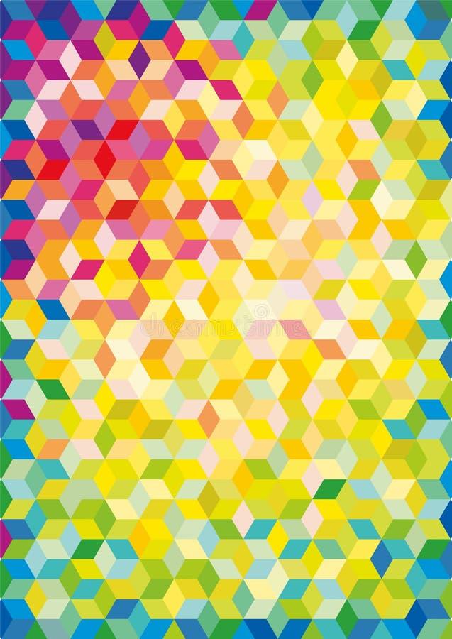 Δίκτυο χρώματος διανυσματική απεικόνιση