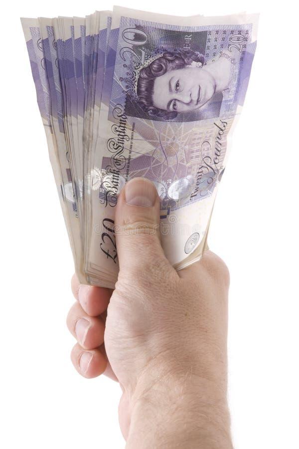 δίνοντας τα χρήματα στοκ φωτογραφίες