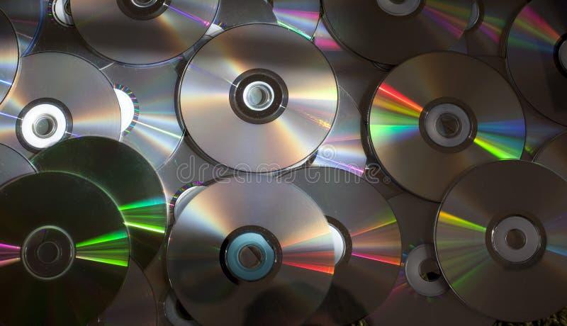 δίσκοι Cd dvd στοκ εικόνα με δικαίωμα ελεύθερης χρήσης