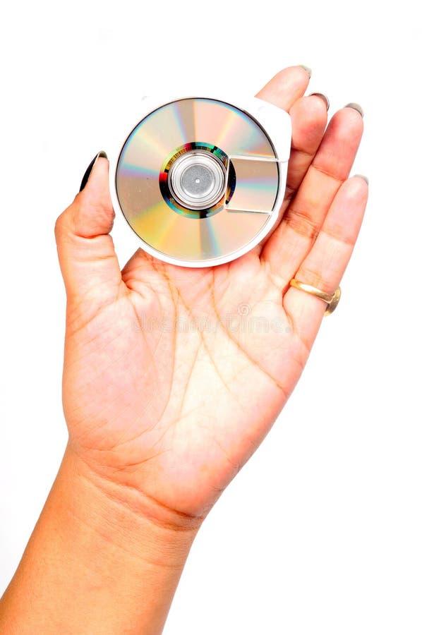 δίσκος μίνι στοκ εικόνα με δικαίωμα ελεύθερης χρήσης