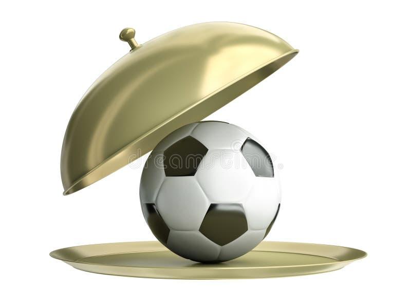 δίσκος ποδοσφαίρου σφαιρών διανυσματική απεικόνιση