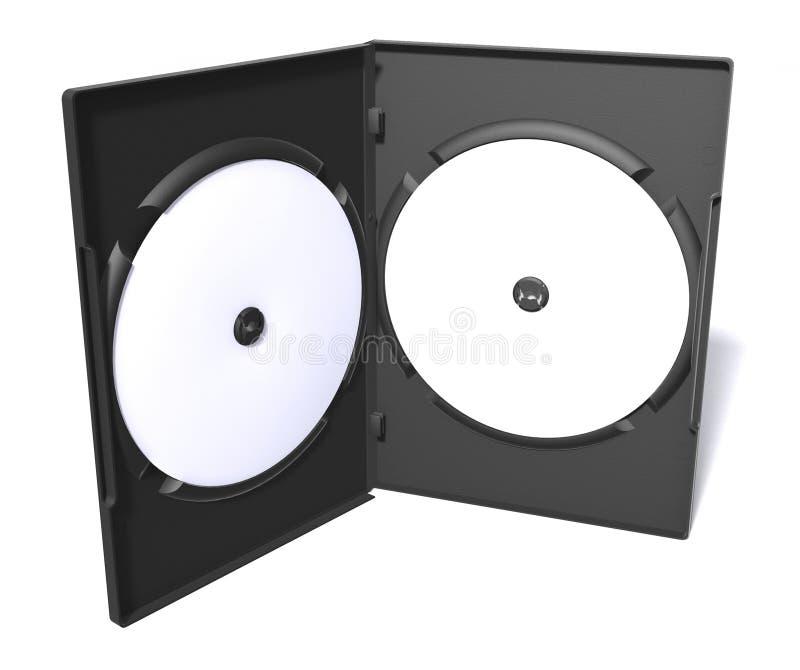 δίσκος Cd υπόθεσης dvd διανυσματική απεικόνιση