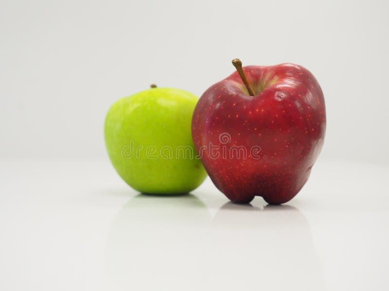 Δίχρωμο μήλο στοκ εικόνες