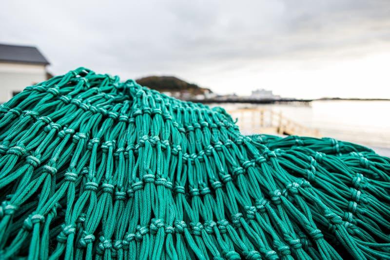 Δίχτια του ψαρέματος και επιπλέοντα σώματα στοκ φωτογραφία