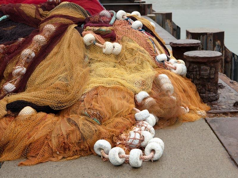 δίχτυα αλιείας Γαλλία στοκ εικόνα με δικαίωμα ελεύθερης χρήσης