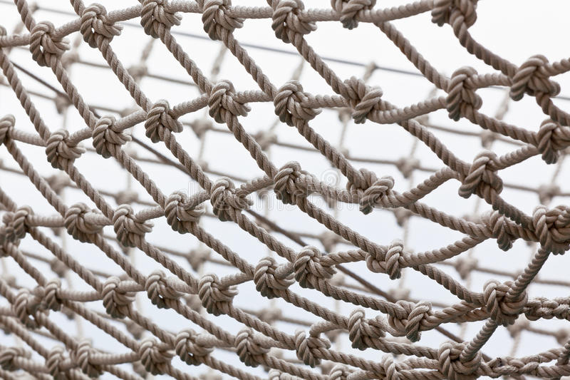 Δίχτυ ασφαλείας γιοτ στοκ φωτογραφία με δικαίωμα ελεύθερης χρήσης