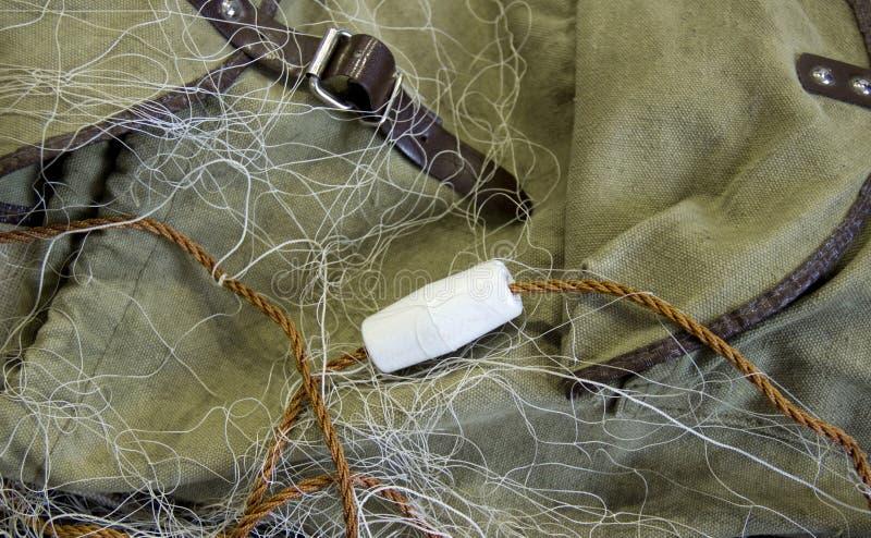 Δίχτυ του ψαρέματος με τα επιπλέοντα σώματα στοκ εικόνες με δικαίωμα ελεύθερης χρήσης