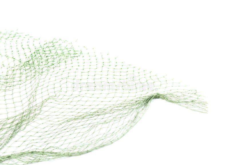 Δίχτυ του ψαρέματος στο άσπρο υπόβαθρο στοκ εικόνα