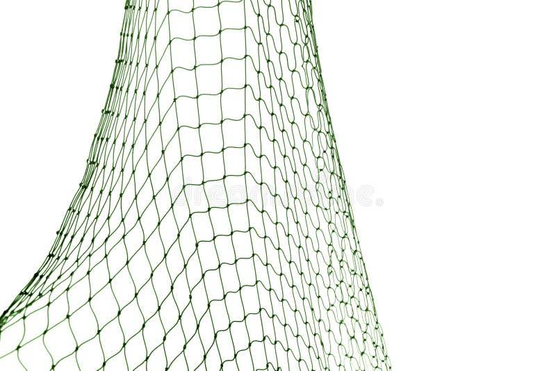 Δίχτυ του ψαρέματος στο άσπρο υπόβαθρο στοκ εικόνες