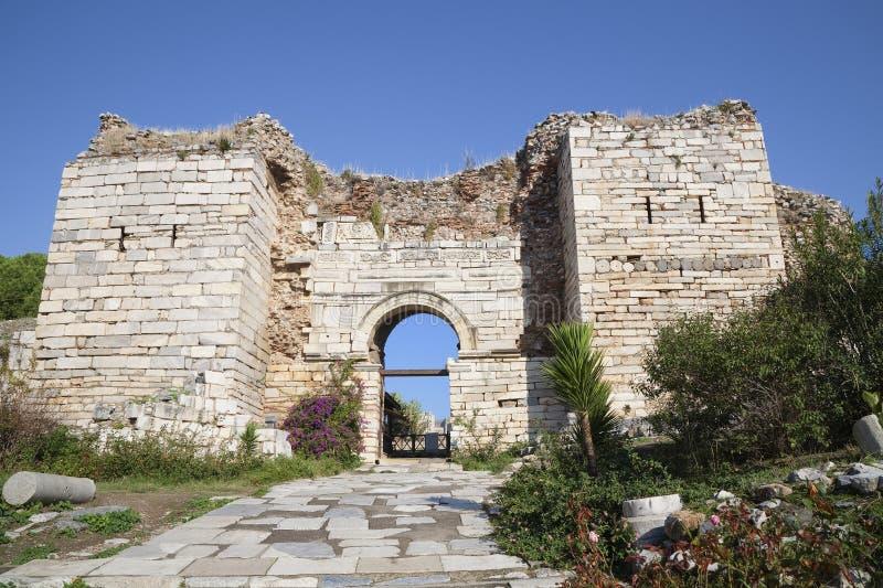 δίωξη Τουρκία πυλών ephesus στοκ φωτογραφία με δικαίωμα ελεύθερης χρήσης