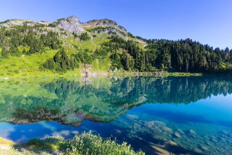 Δίδυμη λίμνη στοκ φωτογραφία με δικαίωμα ελεύθερης χρήσης