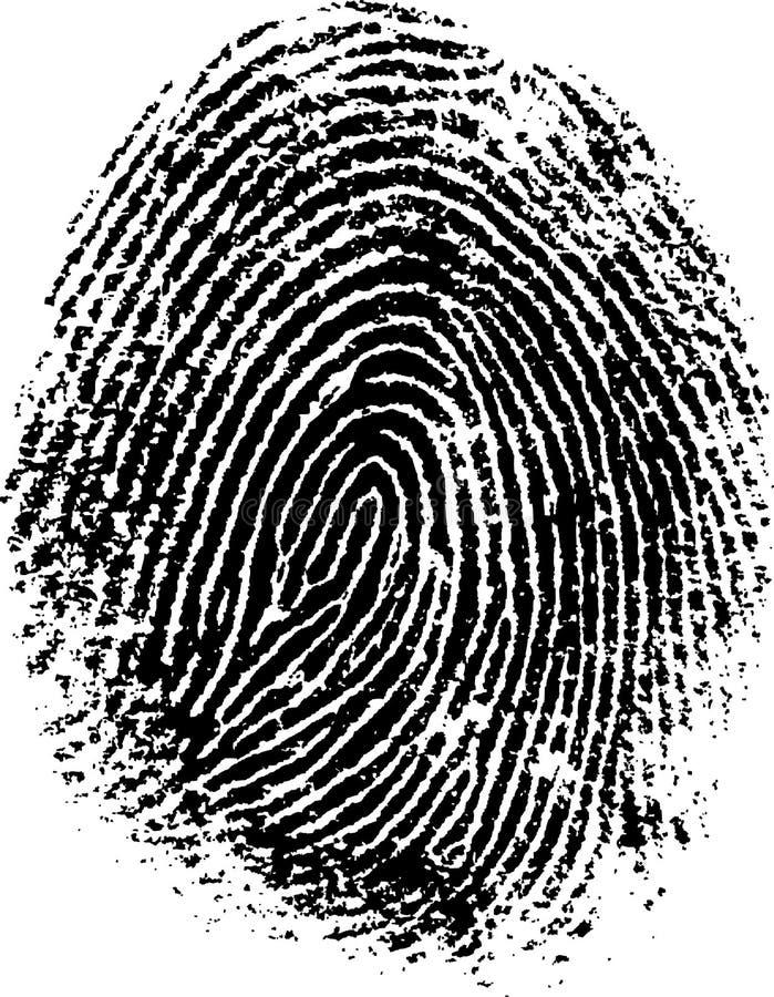 δακτυλικό αποτύπωμα 8 απεικόνιση αποθεμάτων