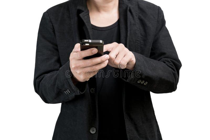 Δακτυλογράφηση επιχειρηματιών στοκ εικόνα με δικαίωμα ελεύθερης χρήσης