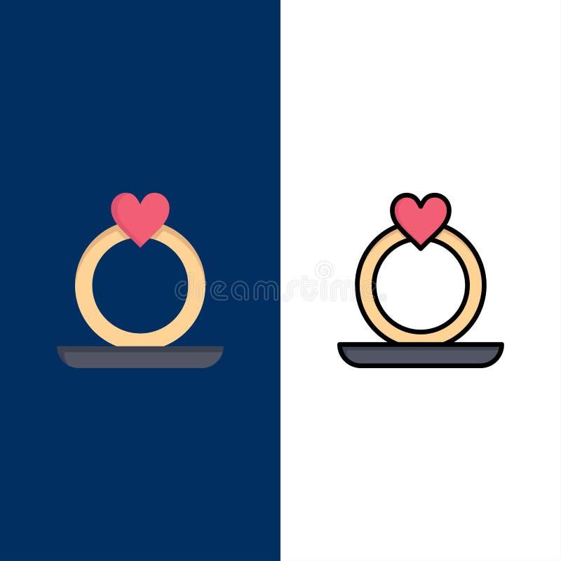 Δακτύλιος, καρδιά, πρόταση απεικόνιση αποθεμάτων