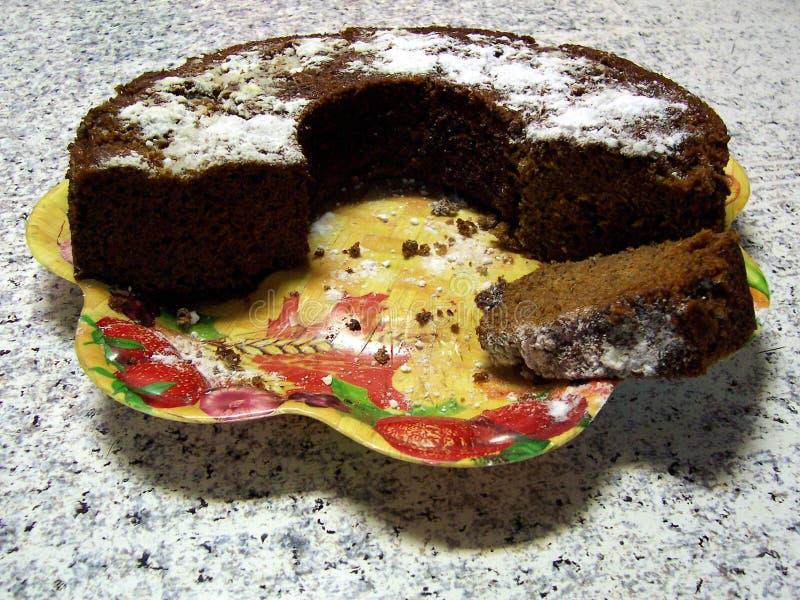 δαμάσκηνο κέικ στοκ εικόνες με δικαίωμα ελεύθερης χρήσης