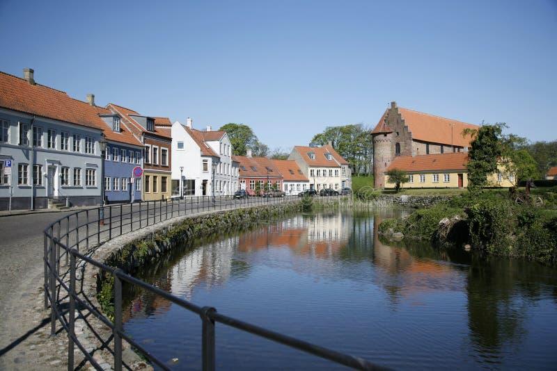 Δανία nyborg στοκ εικόνα