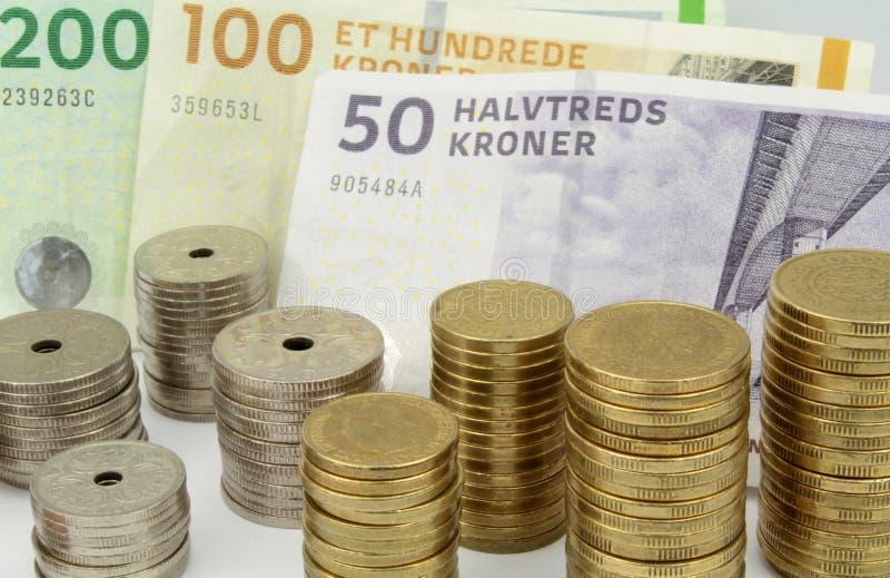Δανικές κορώνες στοκ εικόνες με δικαίωμα ελεύθερης χρήσης