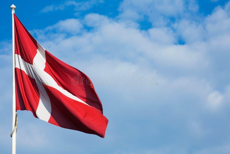 δανική σημαία στοκ φωτογραφίες με δικαίωμα ελεύθερης χρήσης