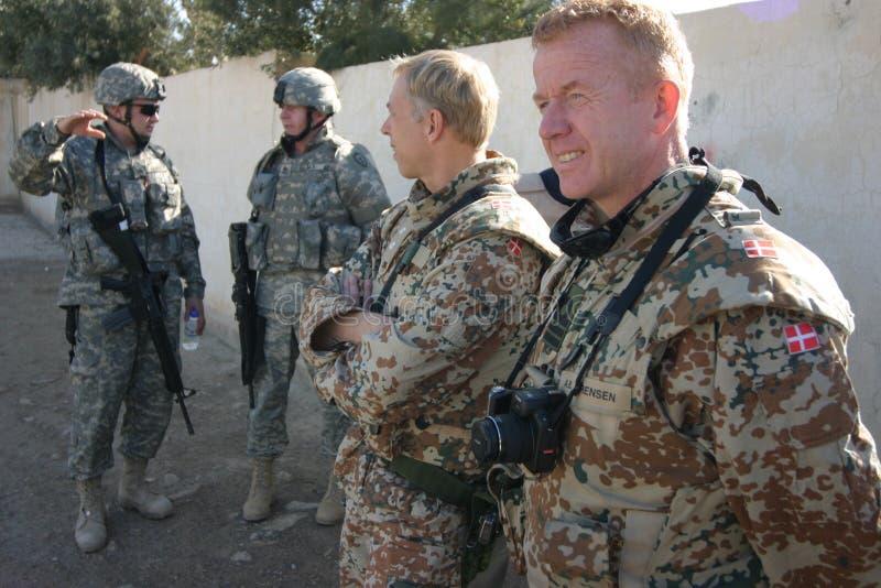 δανικοί στρατιώτες του &Iota στοκ εικόνα