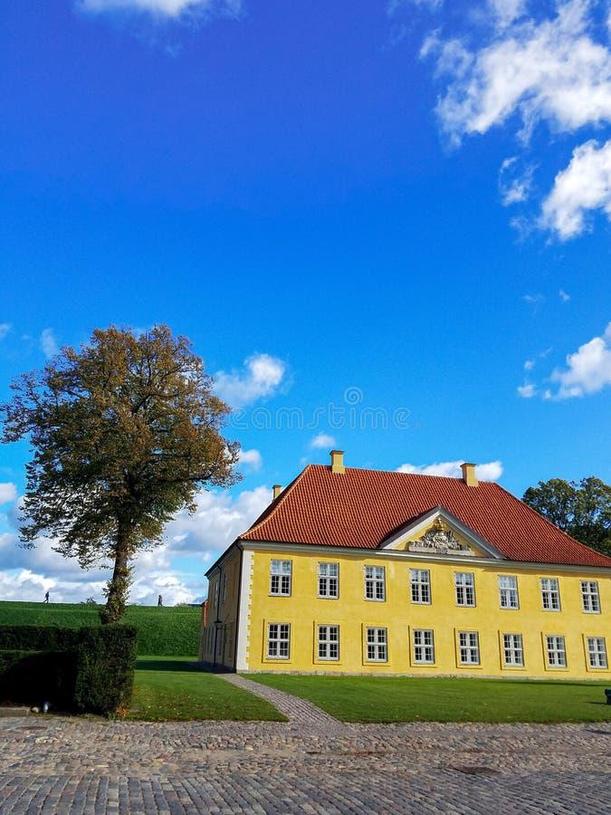 Δανικός προϊστάμενος της κατοικίας αξιωματούχων του υπουργείου Αμύνης στοκ εικόνες