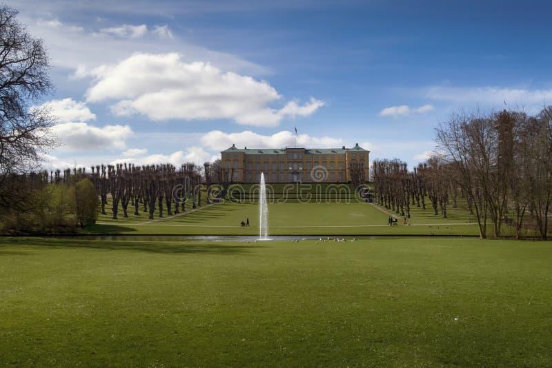 Δανικό πάρκο άνοιξης στοκ φωτογραφίες με δικαίωμα ελεύθερης χρήσης