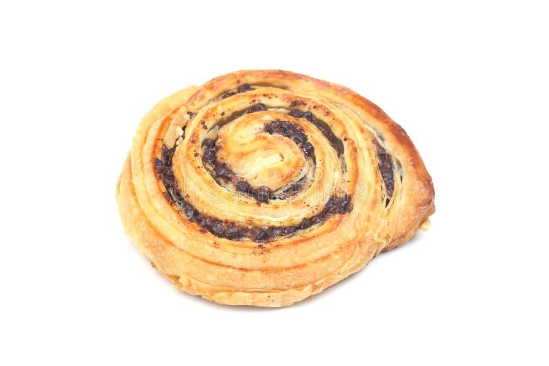 Δανικό ψωμί σοκολάτας στοκ φωτογραφία με δικαίωμα ελεύθερης χρήσης