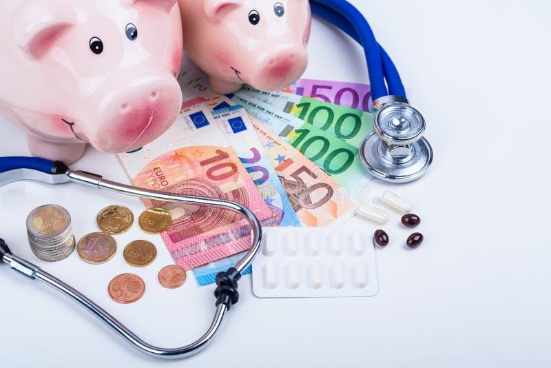 Δαπάνες φαρμάκων στοκ εικόνες
