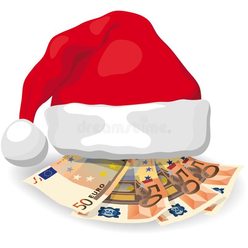 Δαπάνες Χριστουγέννων απεικόνιση αποθεμάτων