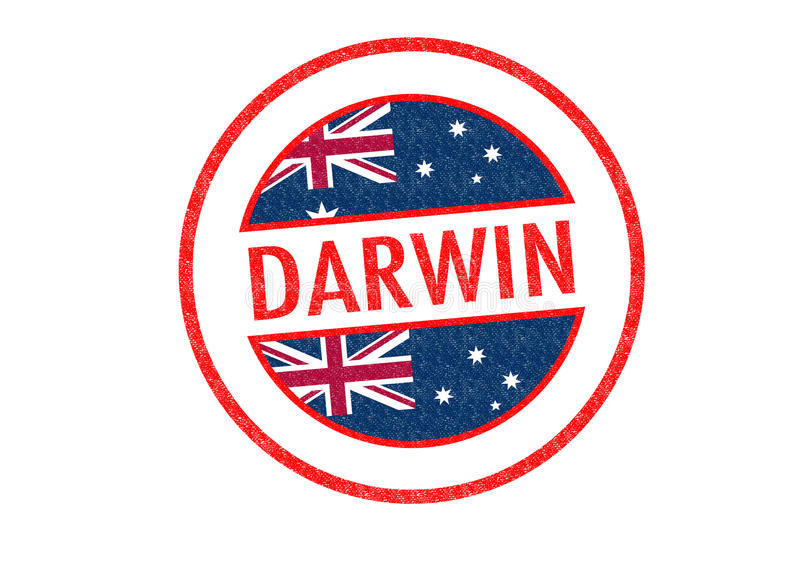 Δαρβίνος διανυσματική απεικόνιση