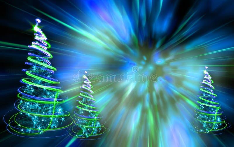 δασικά Χριστούγεννα ελεύθερη απεικόνιση δικαιώματος