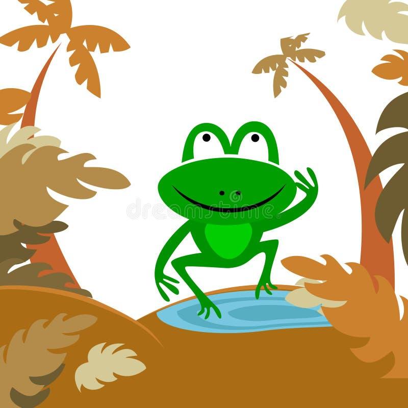 δασικός βάτραχος ελεύθερη απεικόνιση δικαιώματος