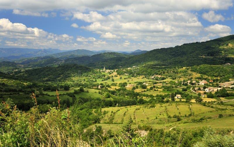 δασικό νότιο valbonne της Γαλλίας goudargues στοκ εικόνα με δικαίωμα ελεύθερης χρήσης