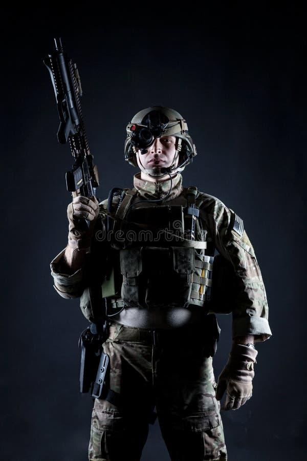 Δασοφύλακας Ηνωμένου στρατού στοκ εικόνα με δικαίωμα ελεύθερης χρήσης