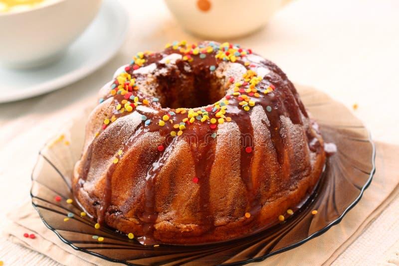 δαχτυλίδι κέικ στοκ φωτογραφία