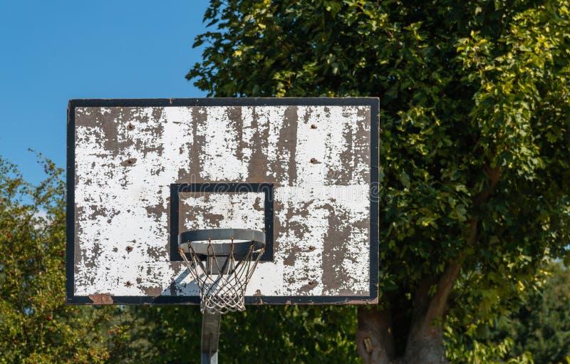 Δαχτυλίδι καλαθοσφαίρισης στοκ φωτογραφίες