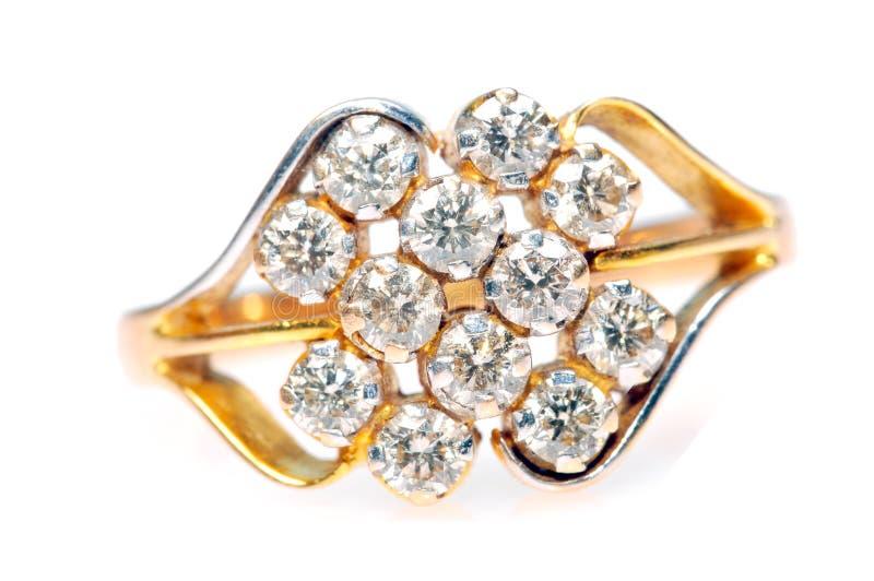 δαχτυλίδι κοσμημάτων δια στοκ εικόνες