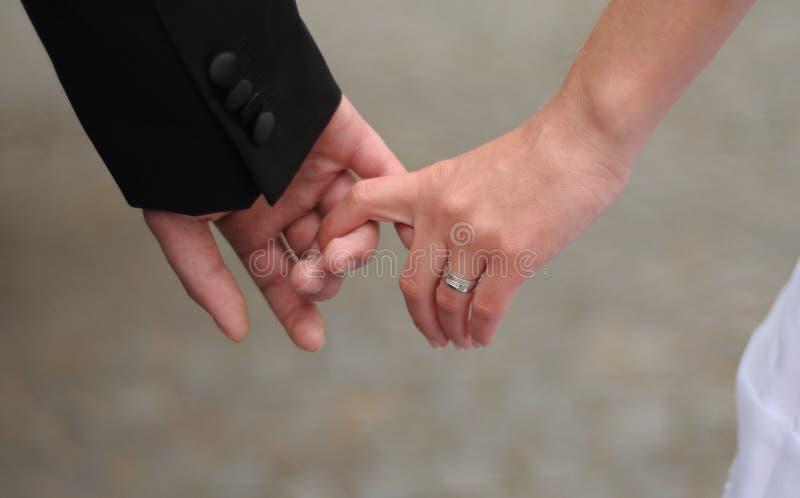 δαχτυλίδι χεριών στοκ εικόνες
