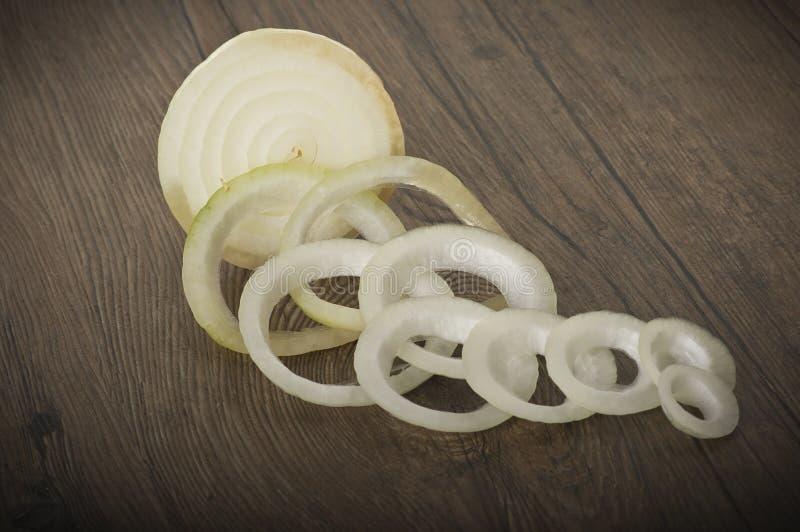 Δαχτυλίδια κρεμμυδιών στοκ εικόνα