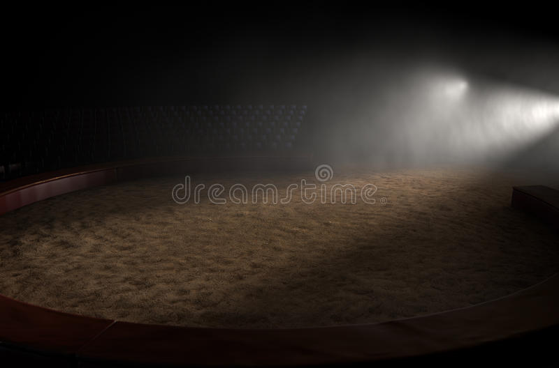 Δαχτυλίδι τσίρκων κενό διανυσματική απεικόνιση