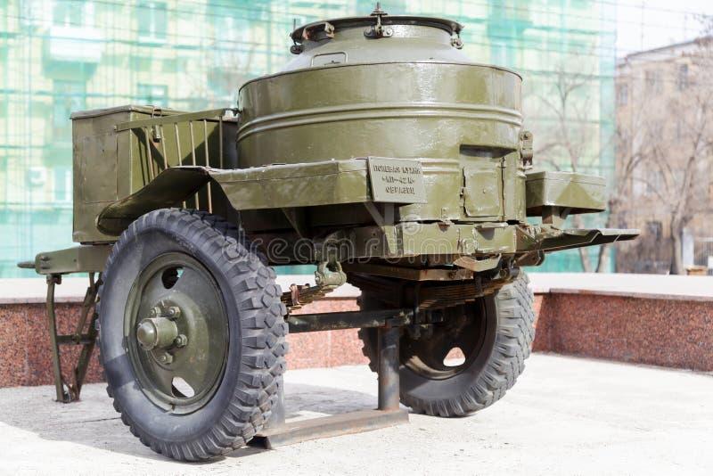 Δείγμα της στρατιωτικής κουζίνας τομέων KP-42M στοκ φωτογραφίες με δικαίωμα ελεύθερης χρήσης