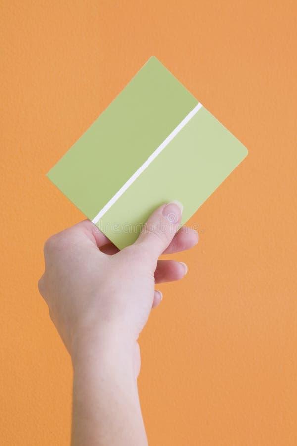 δείγμα χρωμάτων εκμετάλλ&eps στοκ εικόνα