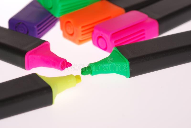δείκτης χρωμάτων στοκ εικόνες