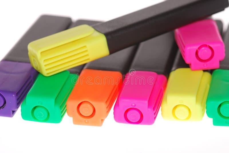δείκτης χρωμάτων στοκ εικόνα
