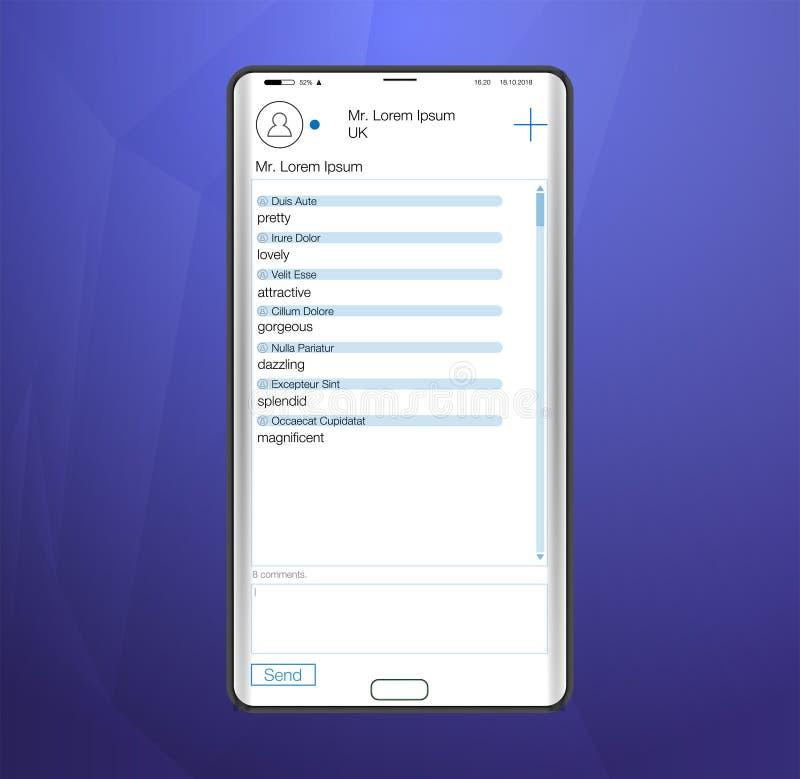 Δείτε τις ειδήσεις στο smartphone Σερφ στο κοινωνικό δίκτυο Ανακοίνωση Διαδικτύου και κοινωνικό δίκτυο σχετικά με την ταμπλέτα ή  απεικόνιση αποθεμάτων