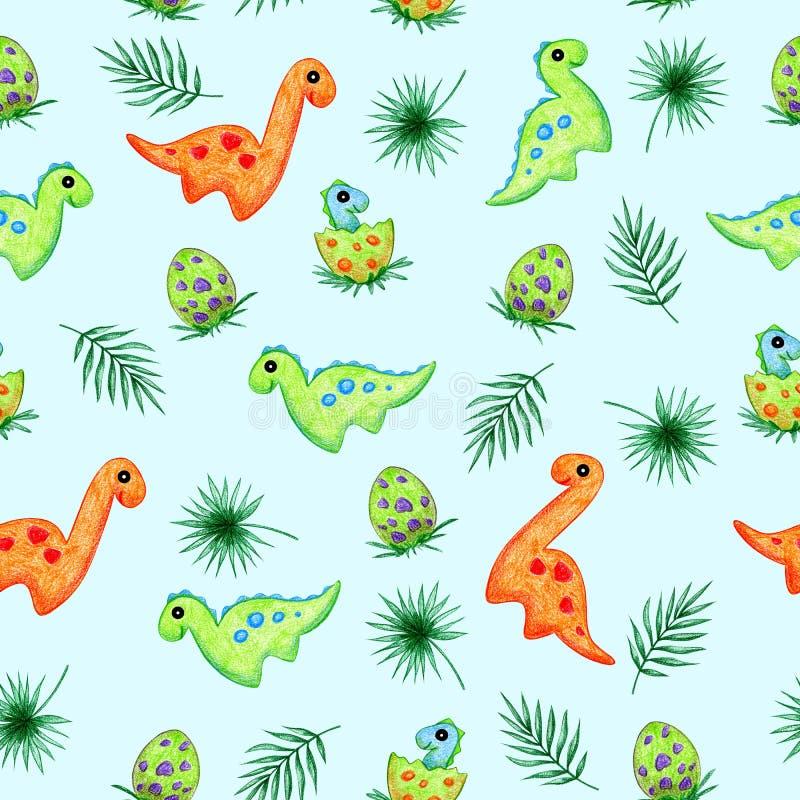 Δεινόσαυροι διανυσματική απεικόνιση