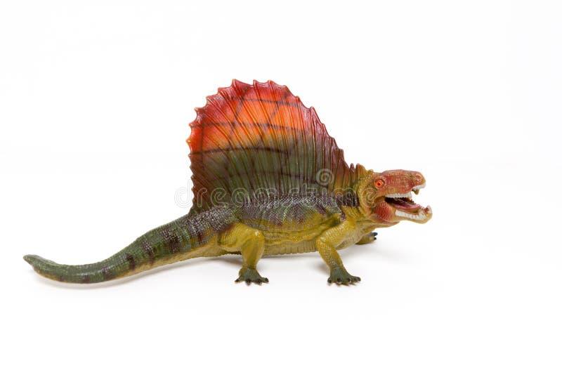 δεινόσαυροι παιχνιδιών σε ένα απομονωμένο άσπρο υπόβαθρο στοκ φωτογραφίες με δικαίωμα ελεύθερης χρήσης