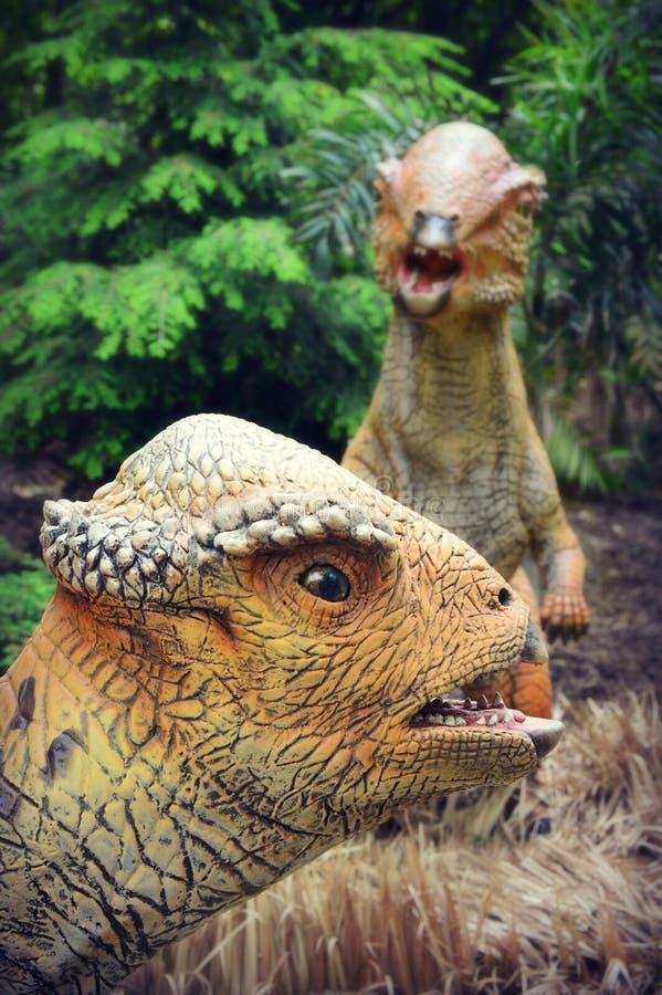 Δεινόσαυροι Citipati στοκ φωτογραφία με δικαίωμα ελεύθερης χρήσης