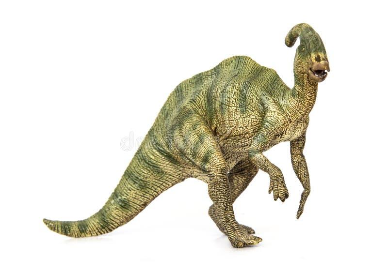 Δεινόσαυροι Parasaurolophus herbivores στοκ εικόνες