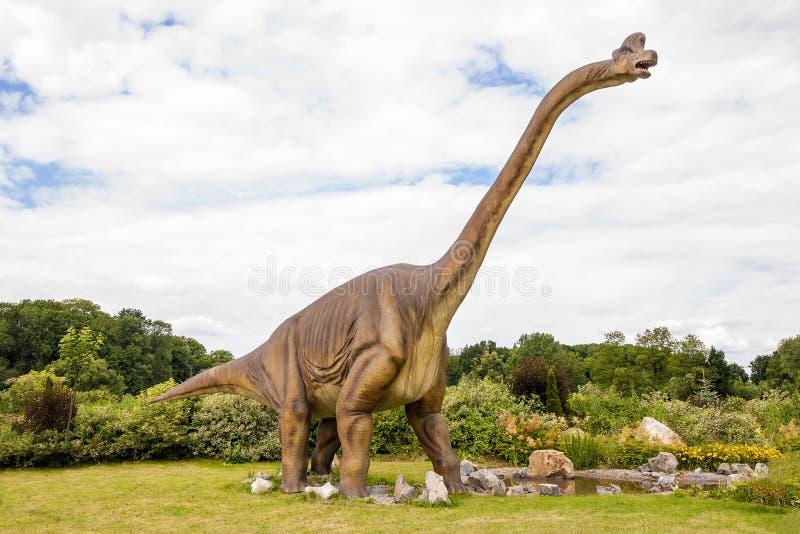 Δεινόσαυρος γλυπτών στοκ φωτογραφία με δικαίωμα ελεύθερης χρήσης
